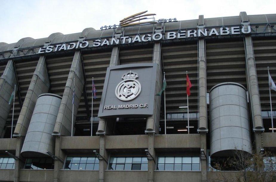 """Santiago Bernabeu stadionas – Madrido """"Realo"""" namai"""