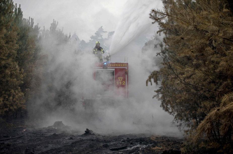 Miško gaisras Vokietijoje