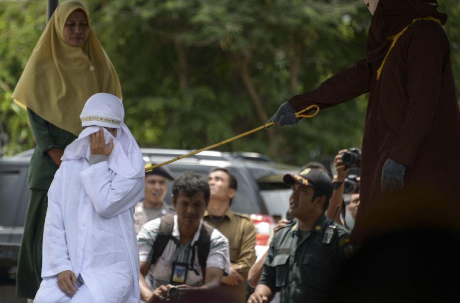 Fizinės bausmės pagal šariato įstatymus Ačeho provincijoje
