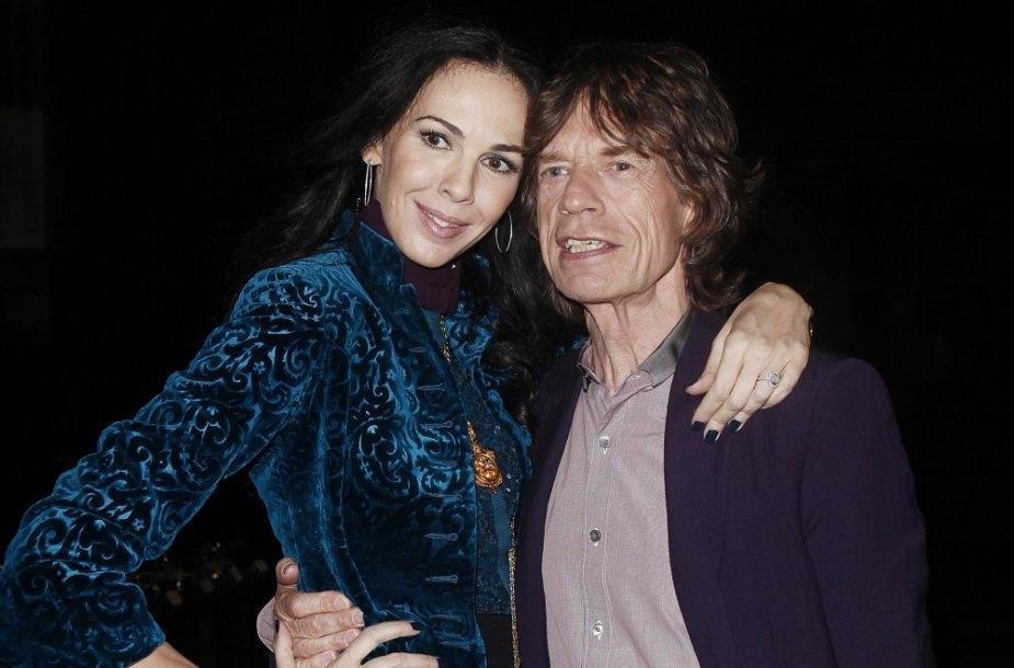 Mickas Jaggeris ir L'Wren Scott 2012-aisiais