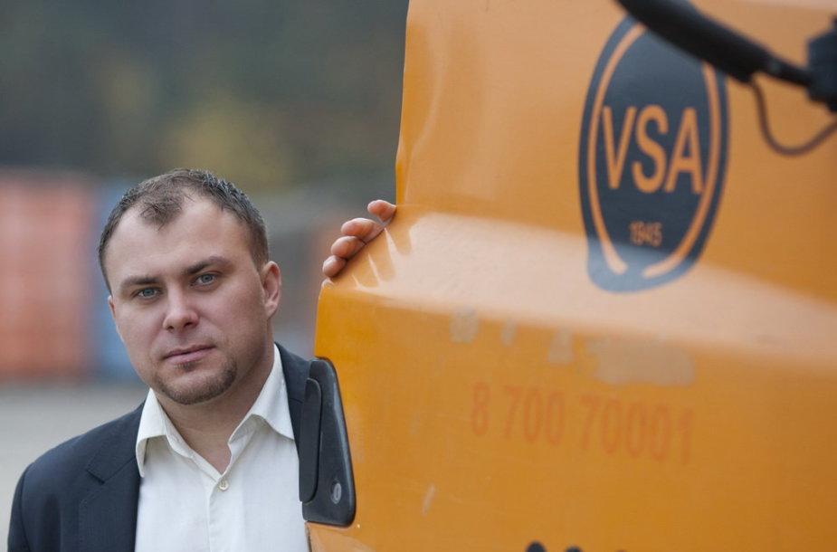 VSA Vilnius klientų aptarnavimo vadovas Martynas Surplys