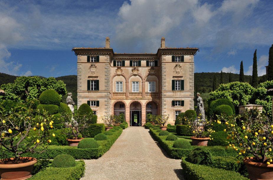 Vila Tuskanijoje, Italijoje – 87,155 JAV doleriai per savaitę