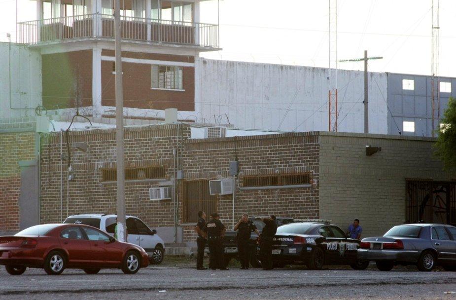 Iš šio Meksikos kalėjimo paspruko 132 kaliniai.