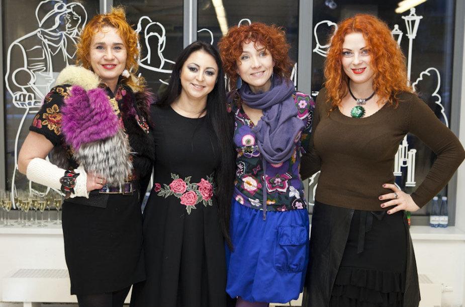 Jūratė Rekevičiūtė, Rūta Morozovienė, Redita Dominaitytė ir Rasa Kaušiūtė
