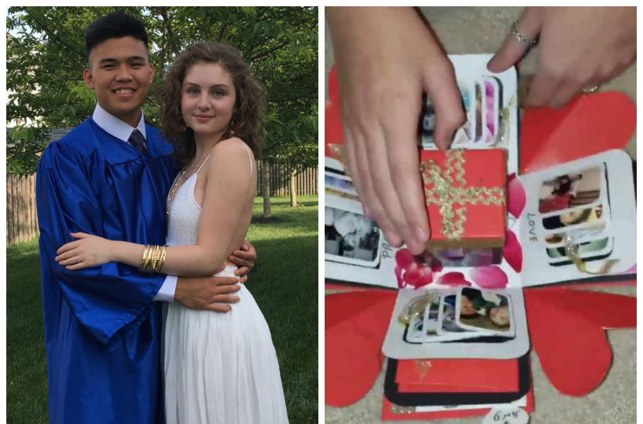 Išvykdamas studijuoti vaikinas savo merginai padovanojo dovaną, sujaudinusią tūkstančius internautų