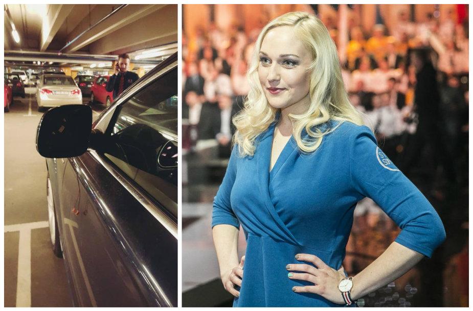 Ilgapirščiai apvogė Indrės Stonkuvienės automobilį