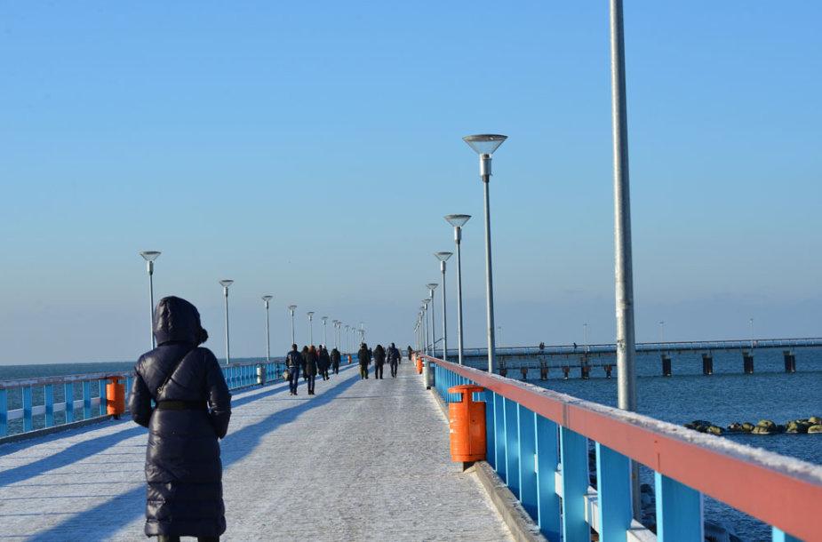 Palanga žiemos metu