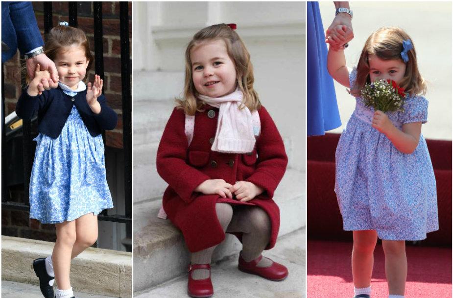 Princesė Charlotte švenčia trečiąjį gimtadienį