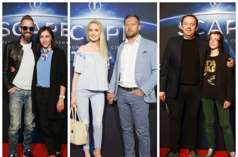 Linas ir Irma Adomaičiai, Kristina Ivanova su draugu Justinu, Andrius Žiurauskas