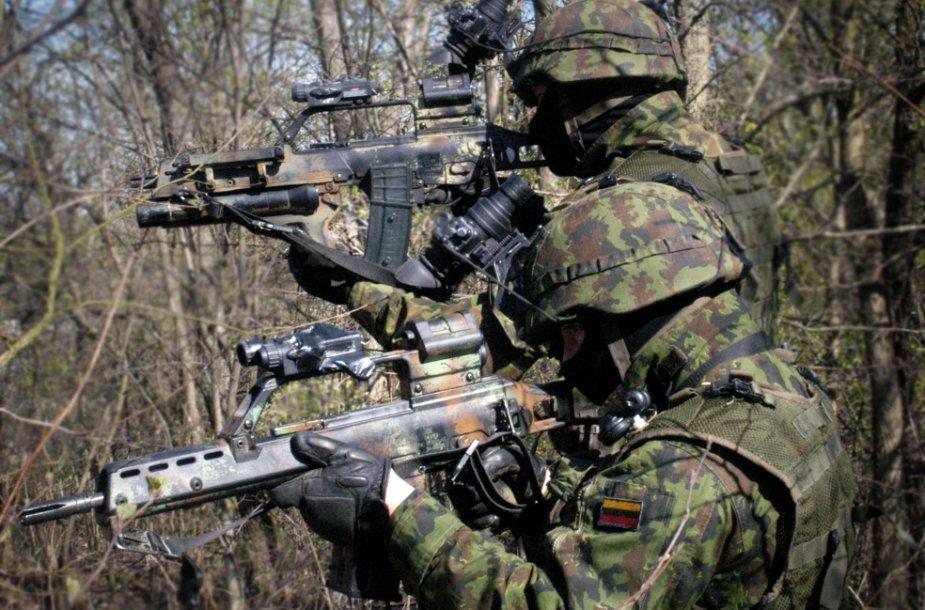 Lietuvos karių pratybos