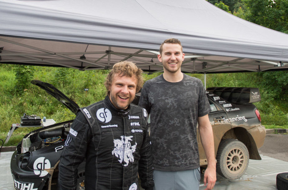 Benediktas Vanagas ir Nikas Stauskas