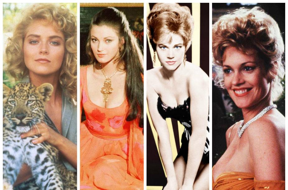 Sharon Stone, Jane Seymour, Jane Fonda ir Melanie Griffith