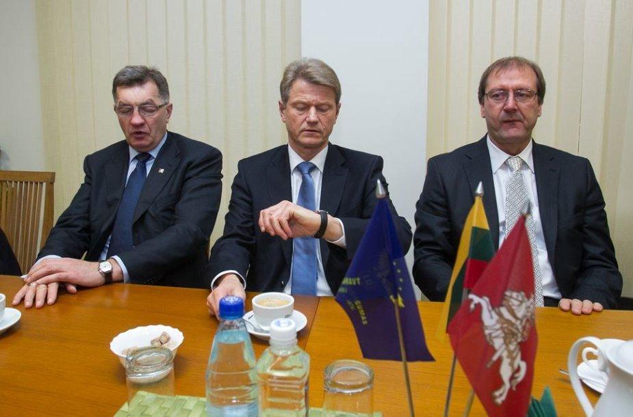 Algirdas Butkevičius, Rolandas Paksas ir Viktoras Uspaskichas