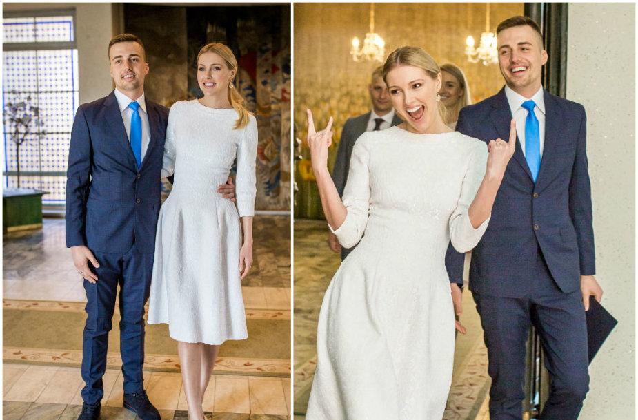 Deimantės Guobytės ir Luko Baranausko vestuvės