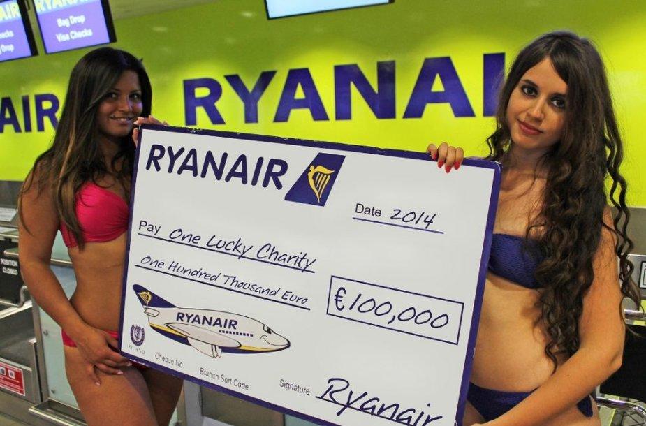 """""""Ryanair"""" labdaringo kalendoriaus pristatymas"""