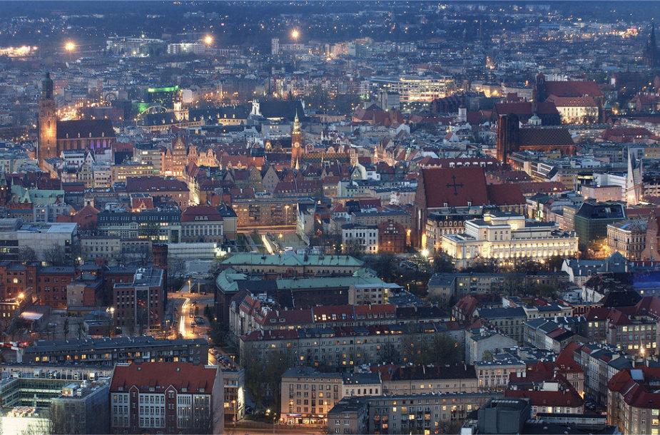 Varšuvos panorama