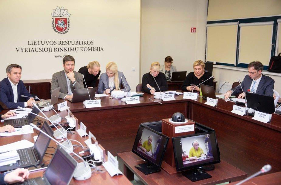 Vyriausiosios rinkimų komisijos posėdis