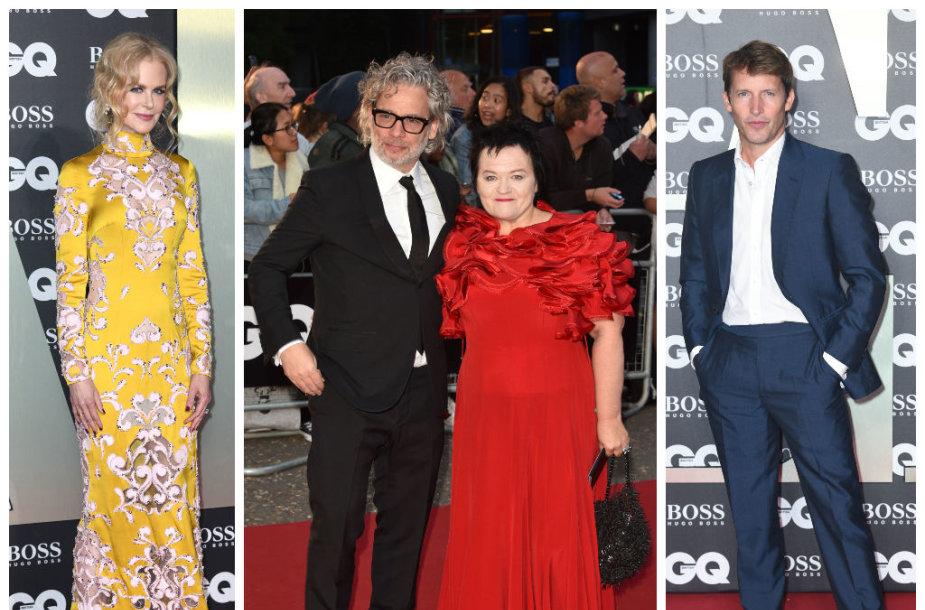 Nicole Kidman, Dalia Ibelhauptaitė su vyru Dexteriu Fletcheriu, Jamesas Bluntas