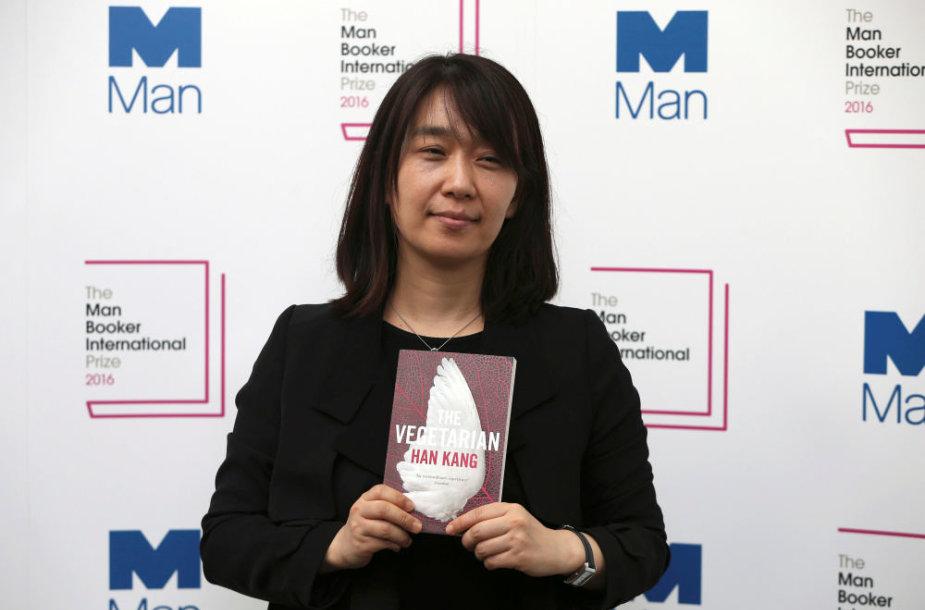 Pietų Korėjos rašytoja Han Kang