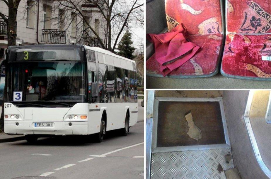 Autobusas Panevėžyje