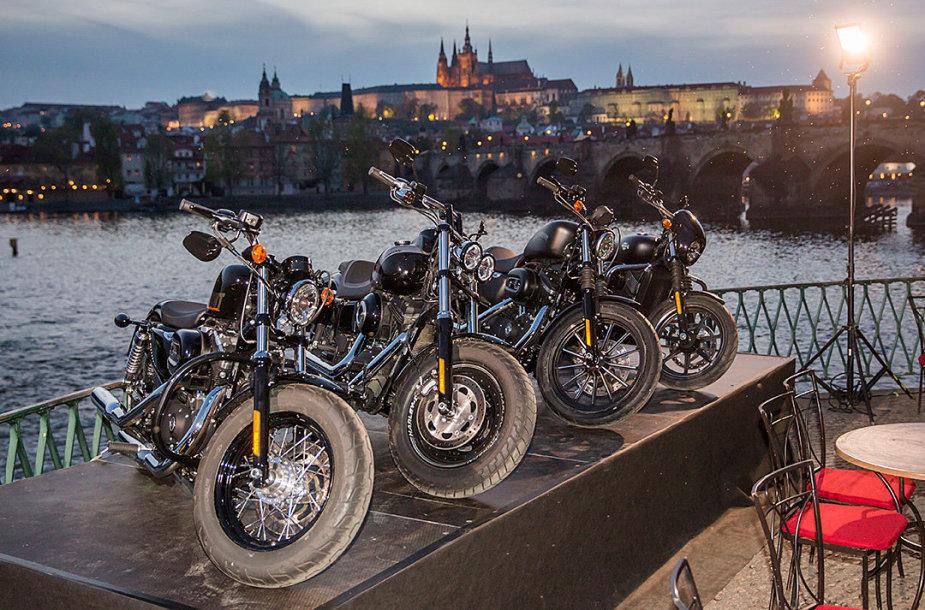 """Harley-Davidson"" renginio akimirka"