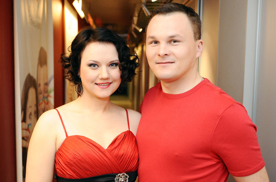Giedrius Leškevičius su žmona Gina Leškevičiene