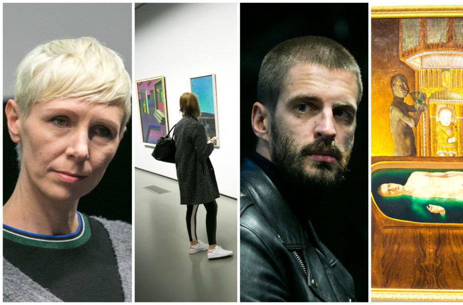 "Duris atvėrė ""Lewben Art Foundation"" kolekcijos paroda"