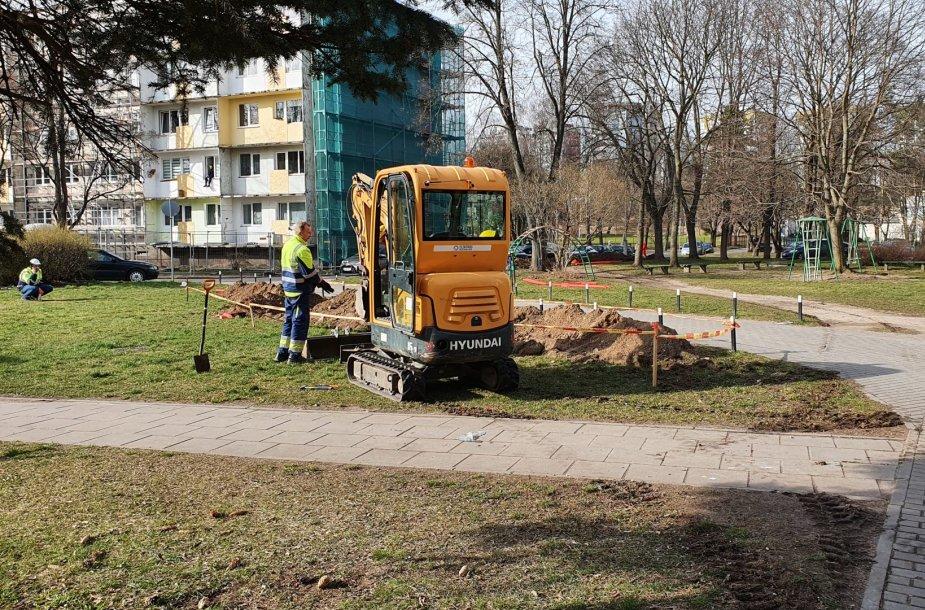 Renovacijos ženklai senajame Vilniaus Žirmūnų rajone