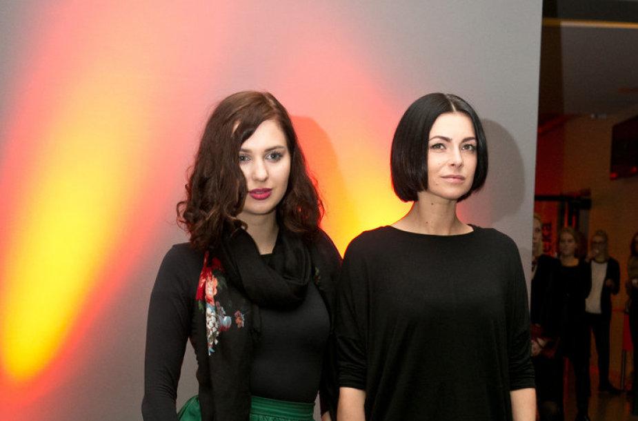 Agnė Kulitaitė ir Agnė Jagelavičiūtė