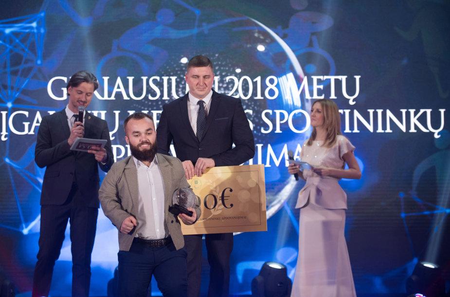 Geriausių 2018 m. Lietuvos neįgaliųjų sportininkų apdovanojimai