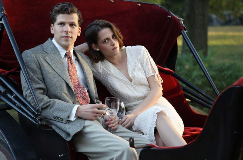 "Kristen Stewart ir Jesse'is Eisenbergas filme ""Aukštuomenės klubas"""
