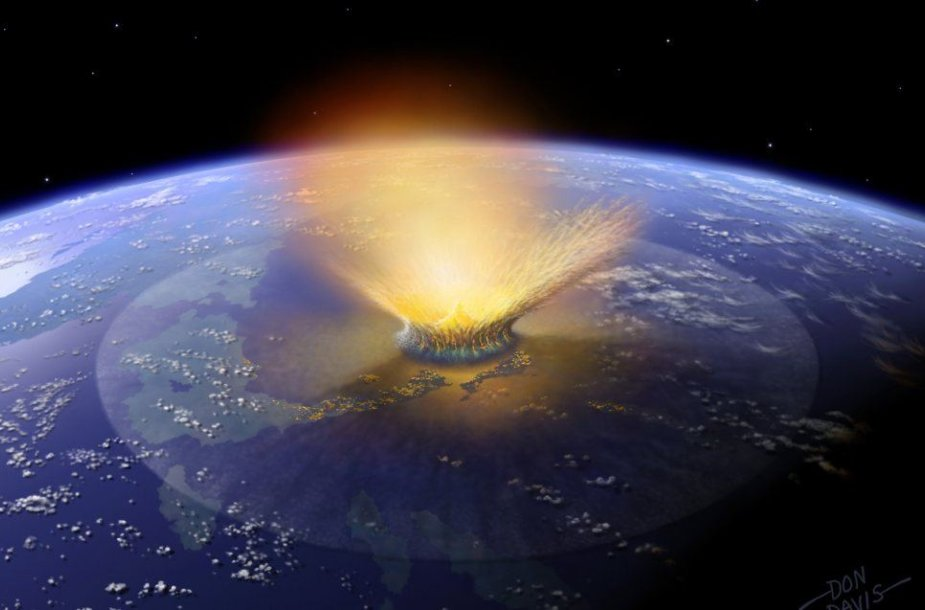 Asteroido susidūrimas su Žeme