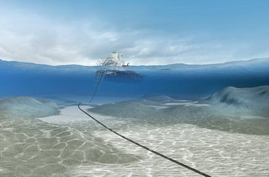 Suomijos-Estijos dujotiekis