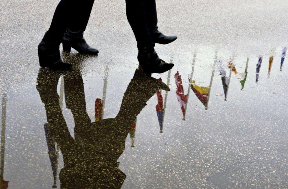 Rytų partnerystės projektas, įkurtas Čekijos sostinėje 2009 metais, turėjo skatinti demokratinius pokyčius šešiose pokomunistinėse šalyse