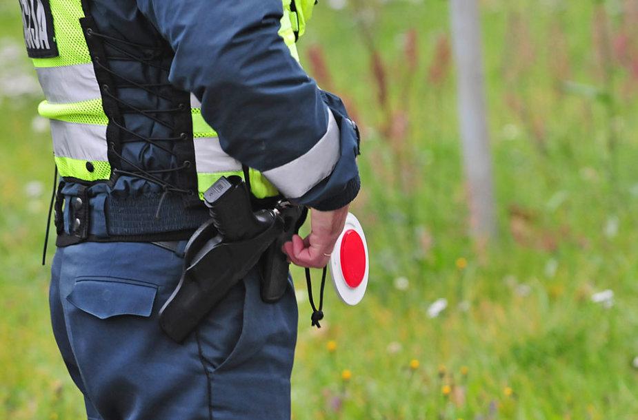 Policijos reidas Vilniuje, Ukmergės g.
