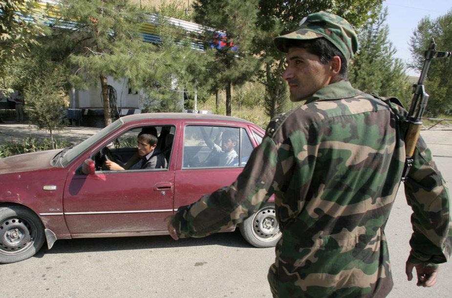 Tadžikistano kariškis