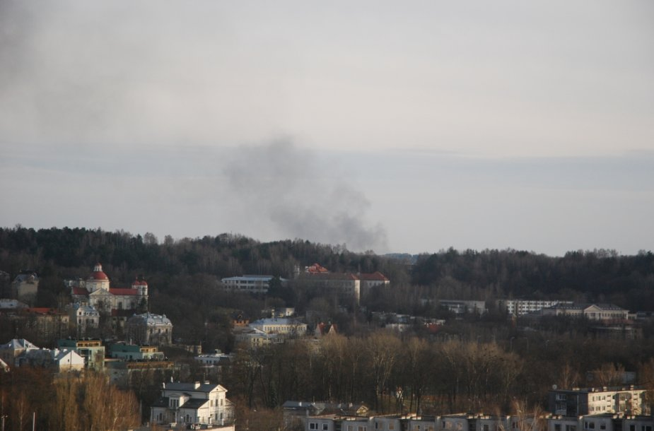 Dūmai virš Vilniaus