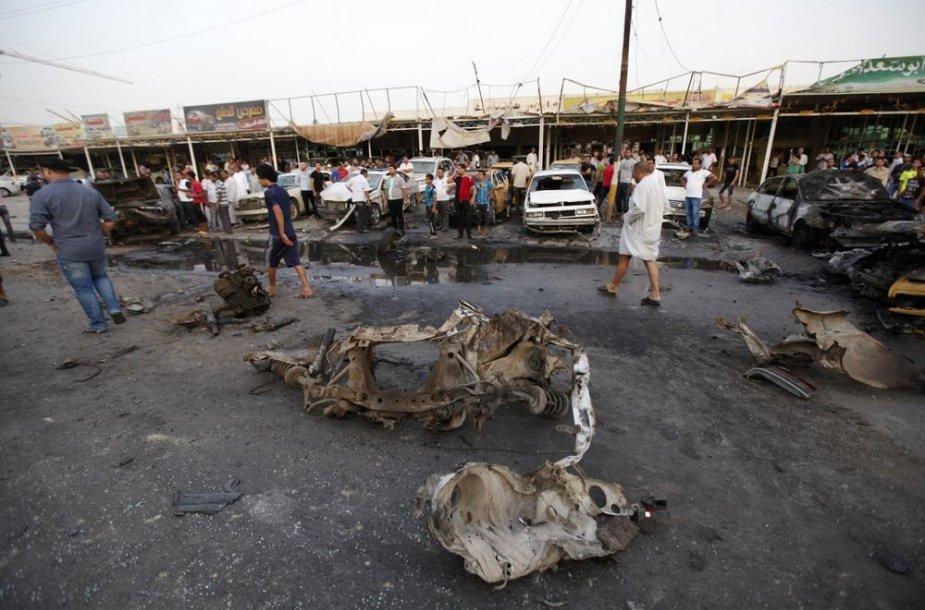 Išpuolio Irake padariniai