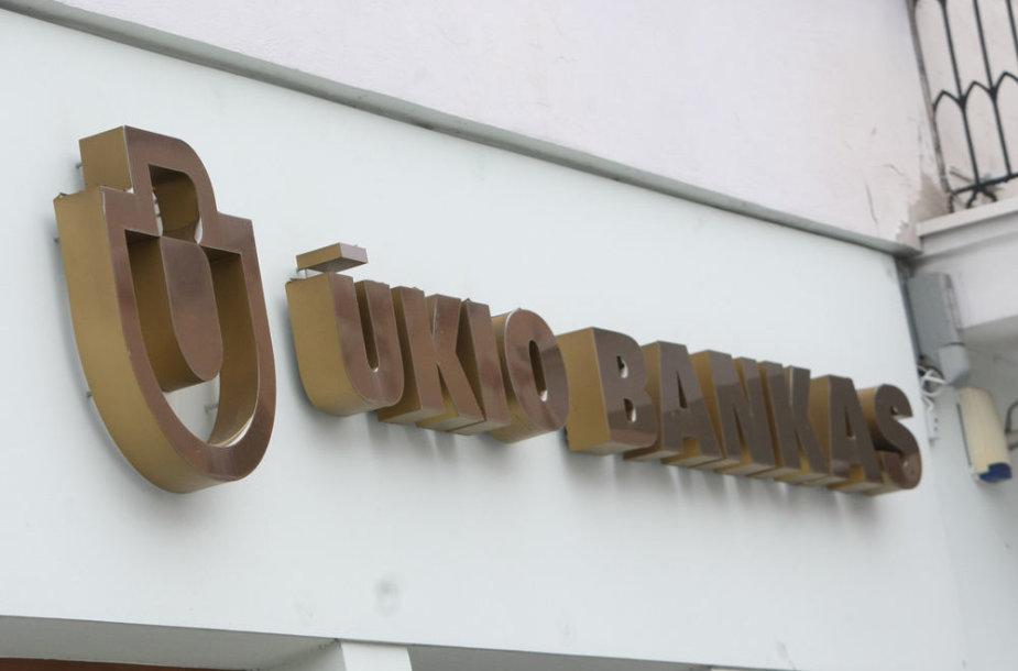 Uždarytas Ūkio banko skyrius Vilniuje