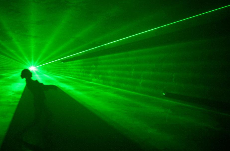 Lazerio šviesos