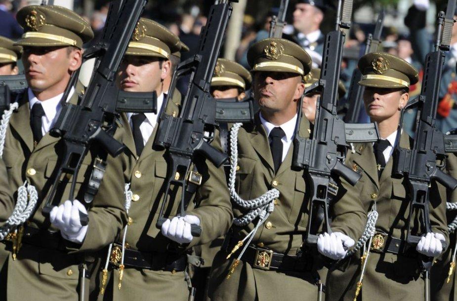 ispanijos kariai
