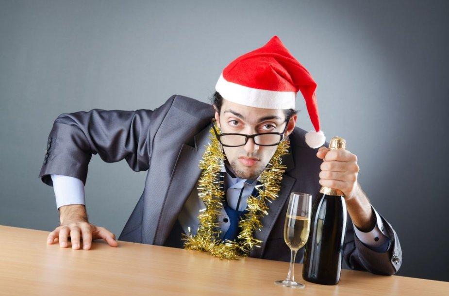 Kalėdinis vakarėlis – pavojingas užtaisas. Na, nebent dirbate su nuostabiu šefu ir labai draugiškame nedidukame kolektyve.