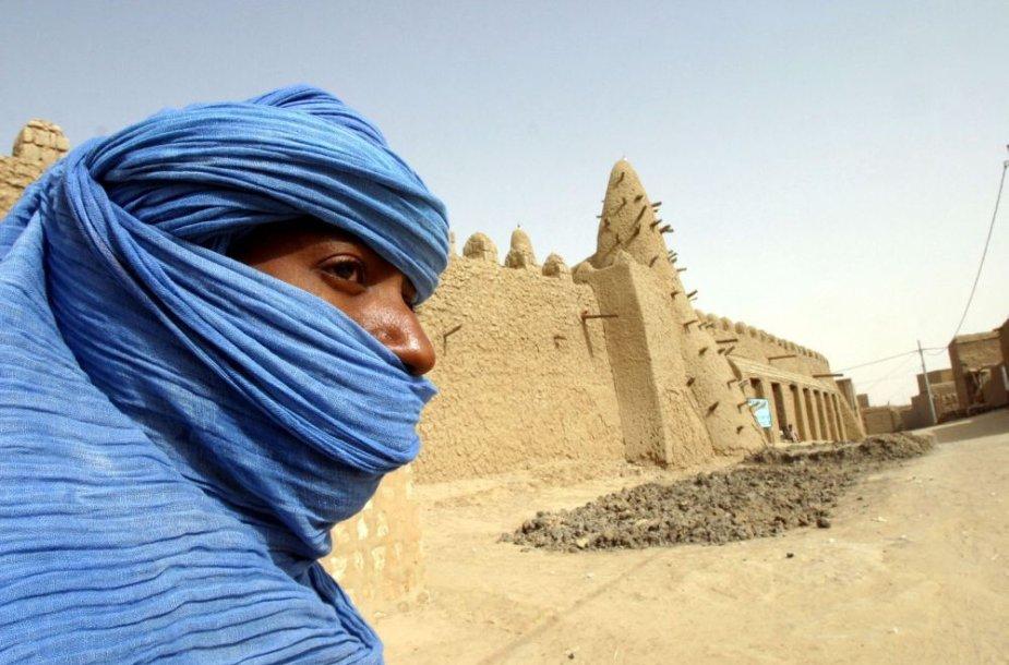 Tombuktu šventyklą saugo tuaregų karys