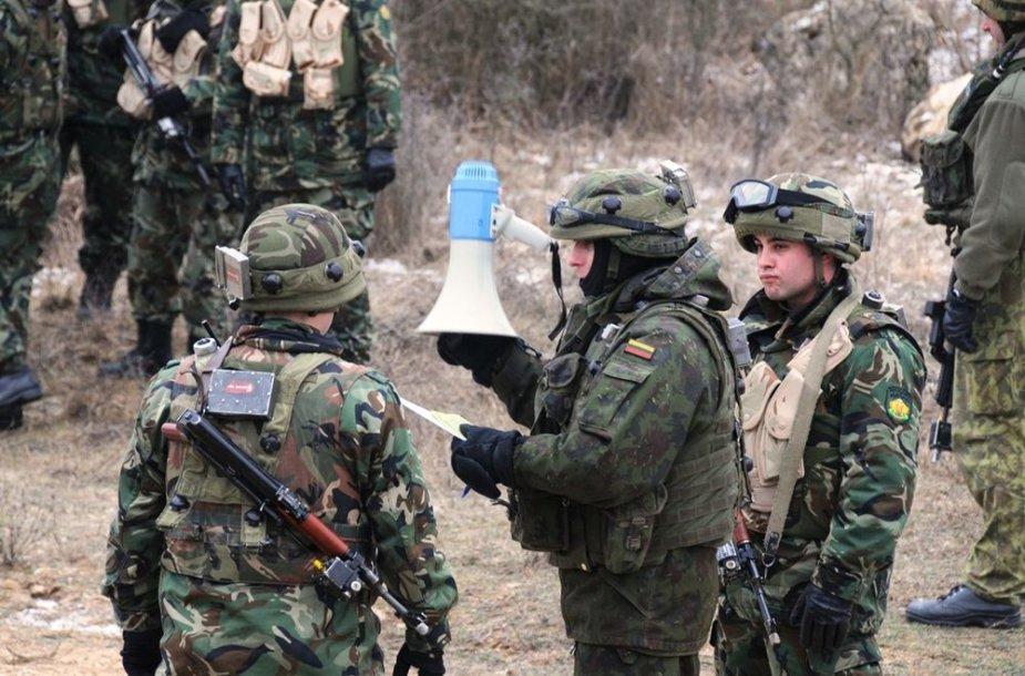 Lietuvos kariai Vokietijoje tobulino įgūdžius