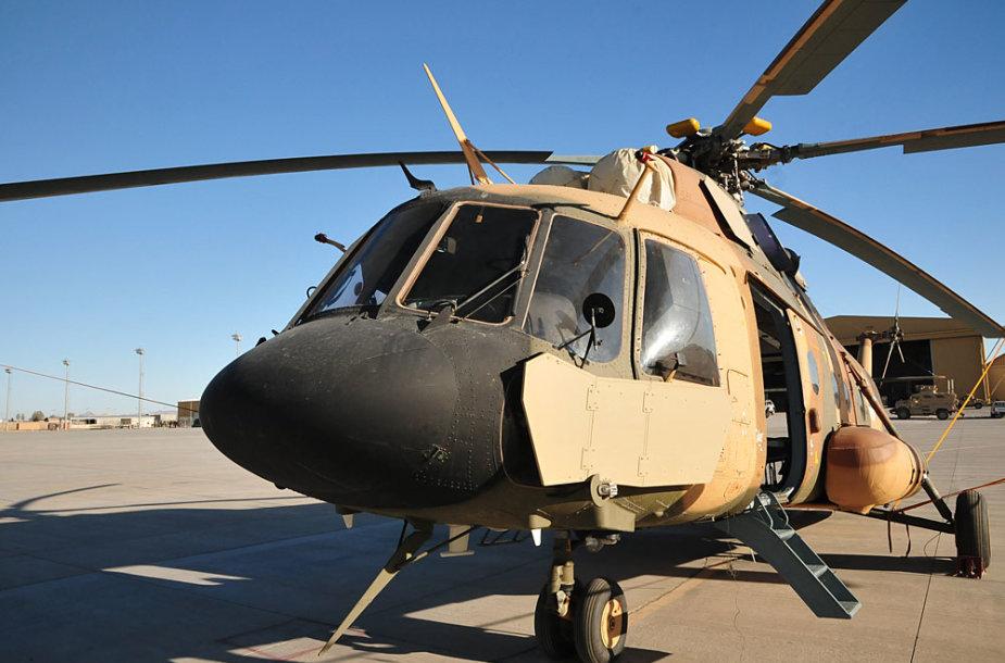 Afganistano armijos (ANA) sraigtasparniai