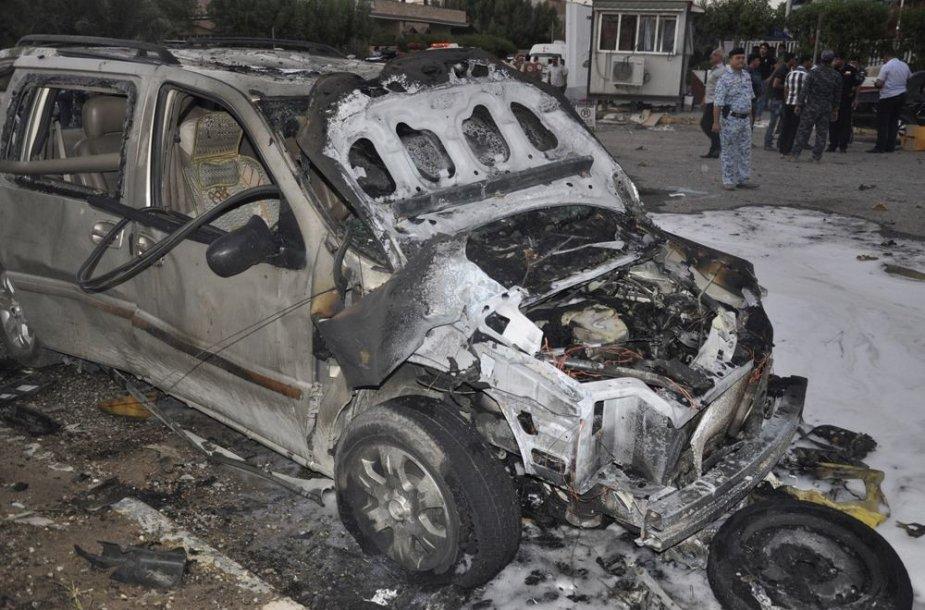 Išpuolio Bagdade padariniai