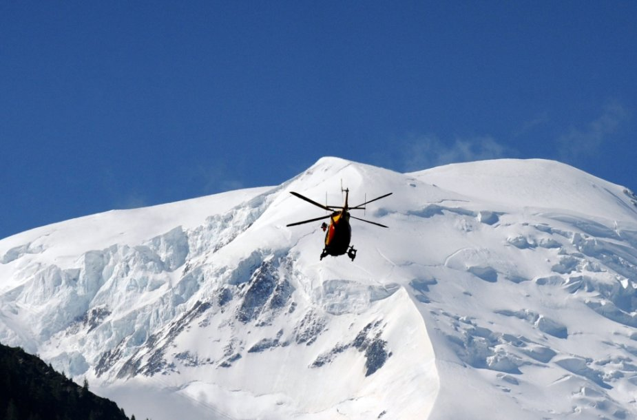 Sniegas Alpėse