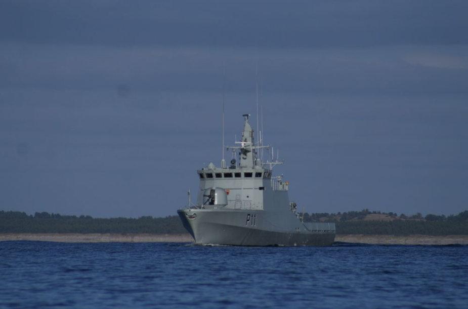 """Karinių jūrų pajėgų patrulinis laivas P11 """"Žemaitis"""""""