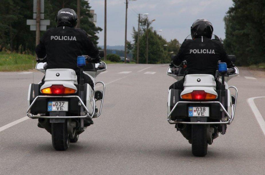 Policijos tarnybiniai motociklai