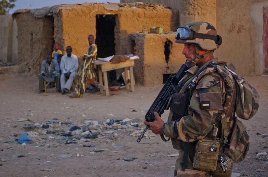 Prancūzų karys Malyje